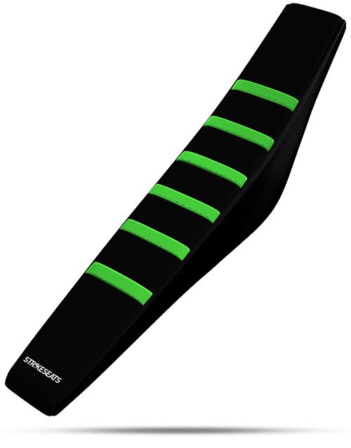 Kawasaki Gripper Ribbed - Green/Black/Black