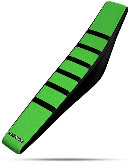 Kawasaki Gripper Ribbed - Black/Green/Black