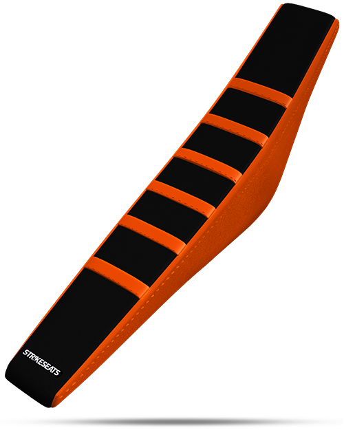 KTM Gripper Ribbed - Orange/Black/Orange