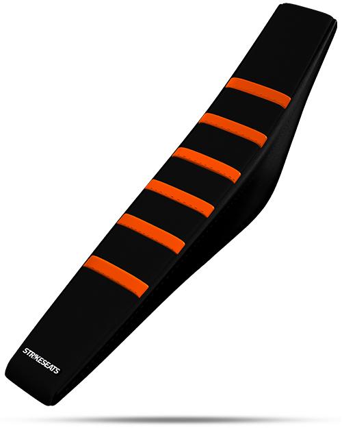KTM Gripper Ribbed - Orange/Black/Black