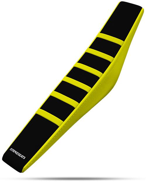 Suzuki Gripper Ribbed - Yellow/Black/Yellow