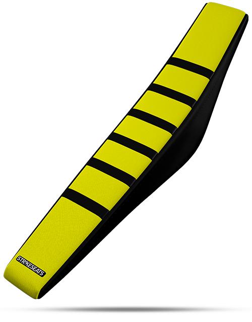 Suzuki Gripper Ribbed - Black/Yellow/Black