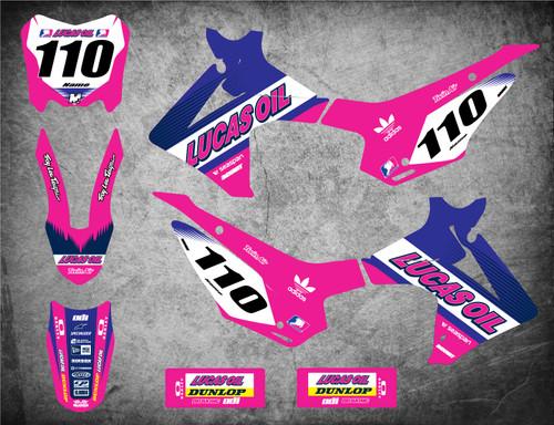 Honda CRF 110 ACTIVE Pink style full kit