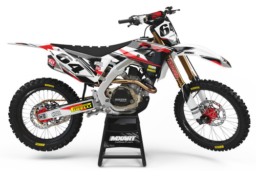CRF 50 EURO RED style full kit