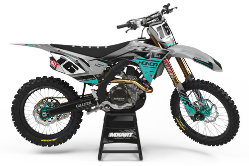 CRF 50 STING TEAL style full kit