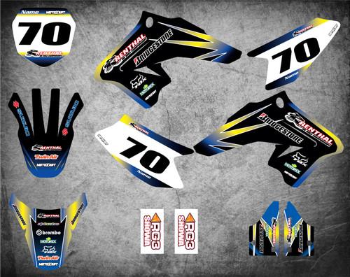 Suzuki DRZ 70 Full graphics kit Australia