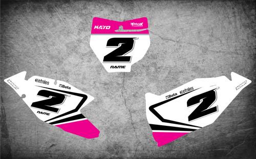 KTM mx bike stickers Australia, image shows KTM SX KTM SXF 2016 2017 2018 model Pro grade quality decals, free shipping Australia wide.