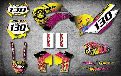 Husaberg 125cc + Neon Style Full Kit