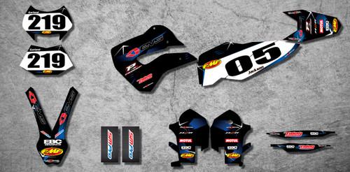 Husaberg 125cc + Barbed Style Full Kit