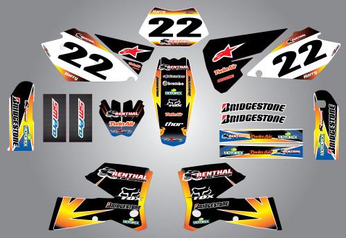 Husaberg 125cc + Sunrise Style Full Kit