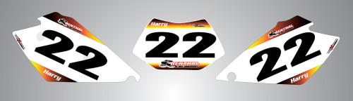 Husaberg 125cc + Sunrise Style Number Plates