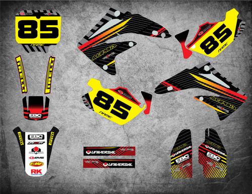 CR 80 / 85 Factory style full kit
