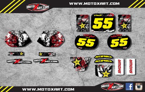 QR 50 GRAFFITI style full kit