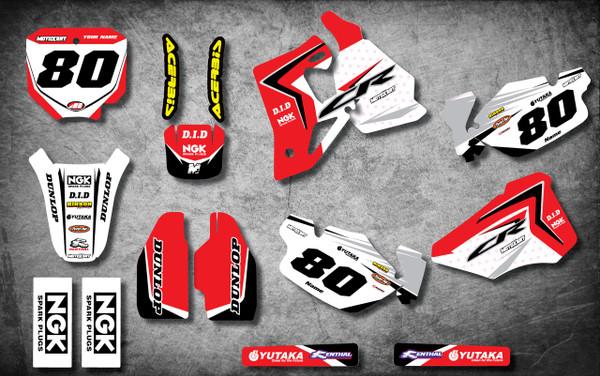 CR 80 / 85 Digger style full kit - MotoXart