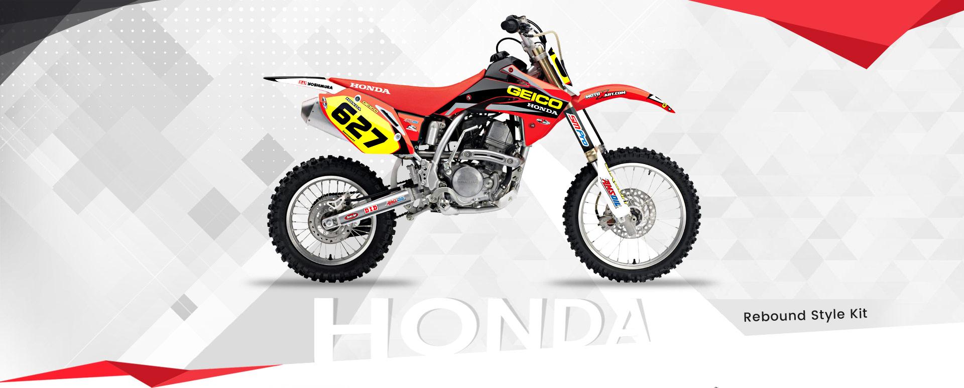 Custom Motocross Decals High Quality Sticker Kits Australia I Motoxart