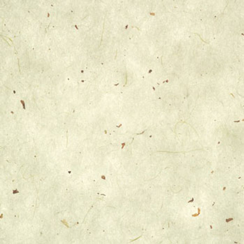 K141 Kozo washi paper speckled with mulberry chips and fibers on off white/cream color paper for shoji screen