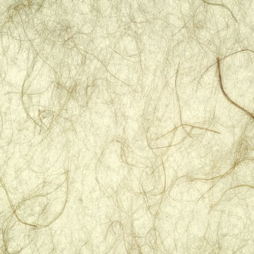 C106 Laminated paper 0.3mm Craft Washi Series, Flax pattern with brown fibers for shoji screens
