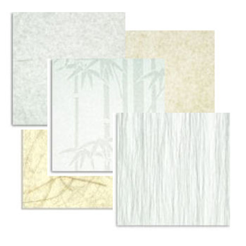 stain resistant laminated paper samples cloud dragon plain off-white 0.2 0.3 0.45mm