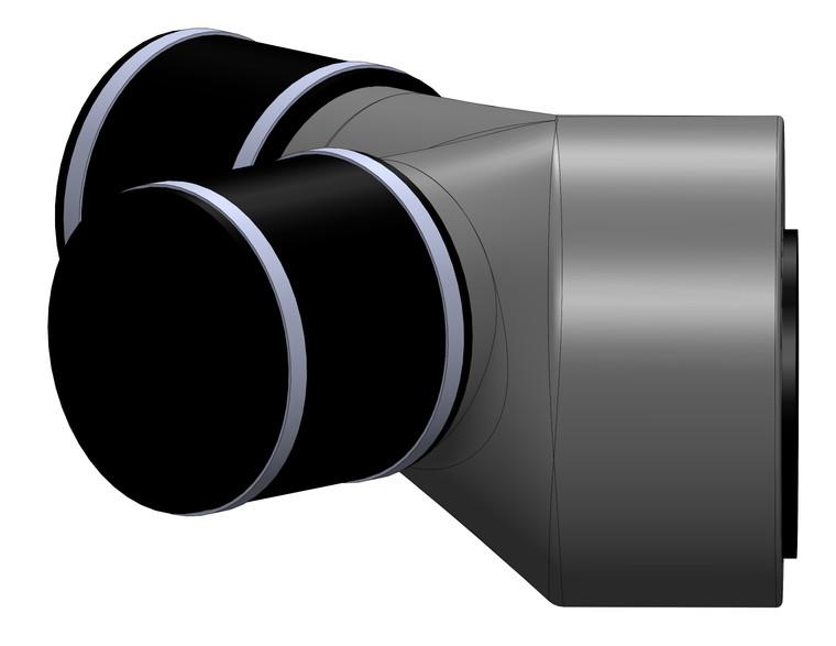 Y6-RW, RW75 Series Intake/Overflow Fitting