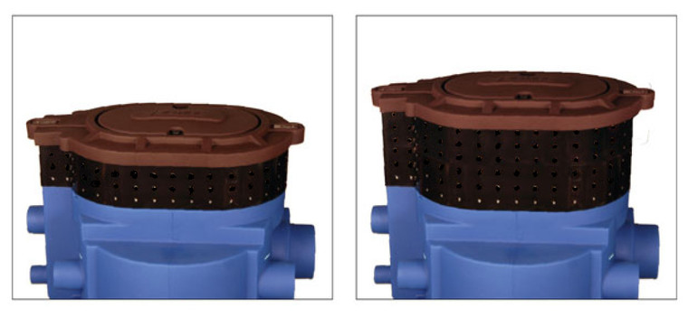 """XT6-40, 6"""" Lid Extension for GS Series Greywater Processors"""