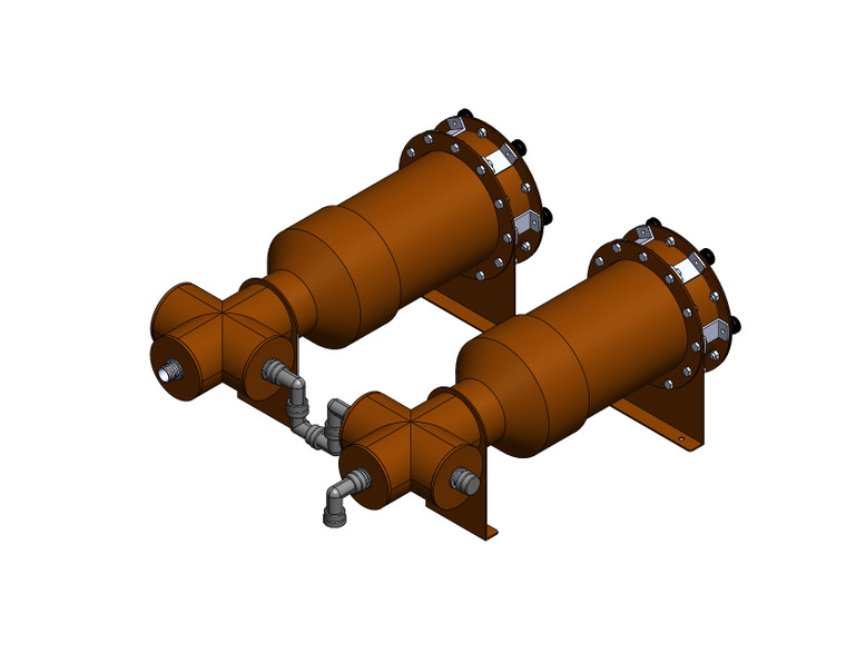 SF-MCF, Secondary Filter Multi-Connection Fittings
