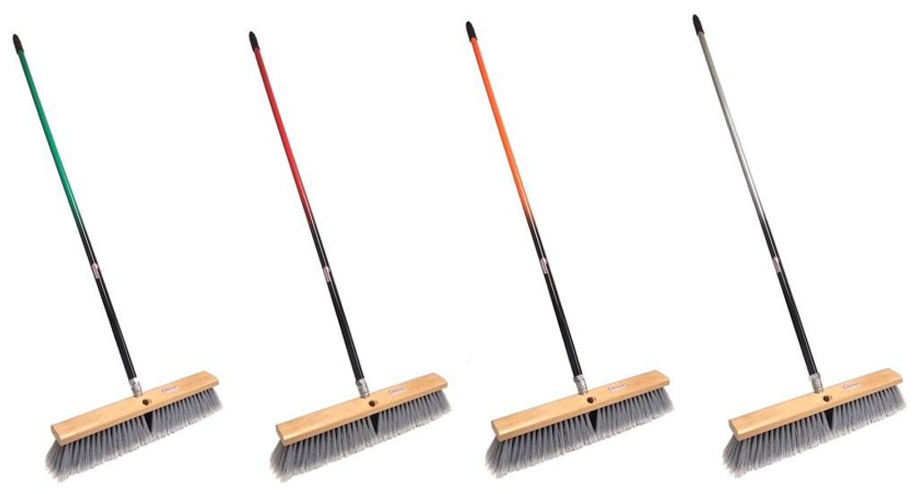 multi surface push broom