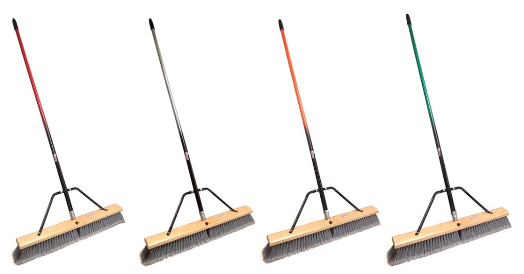 24 inch push broom