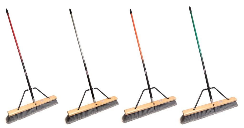24 inch push broom