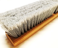 smooth fiber push broom head