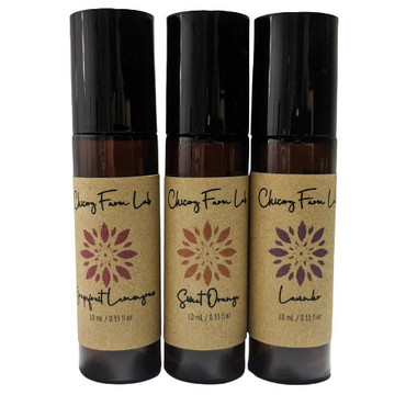 Chicory Farm Cheer Up Roll On Gift Set