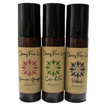 Chicory Farm Transcend Roll On Gift Set