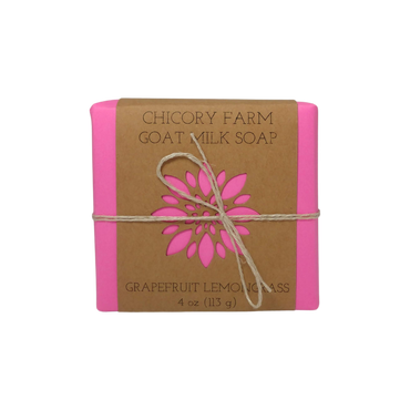 Grapefruit & Lemongrass goat milk soap
