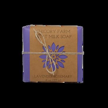 Lavender Rosemary Goat Milk Soap