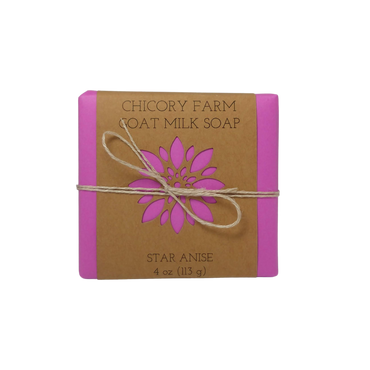 Star anise goat milk soap