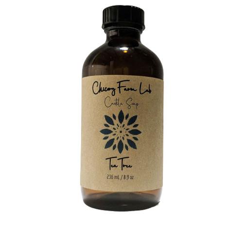 Chicory Farm Soap Tea Tree Liquid Soap