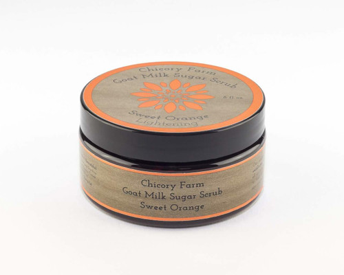 Chicory Farm Soap Sweet Orange Sugar Scrub