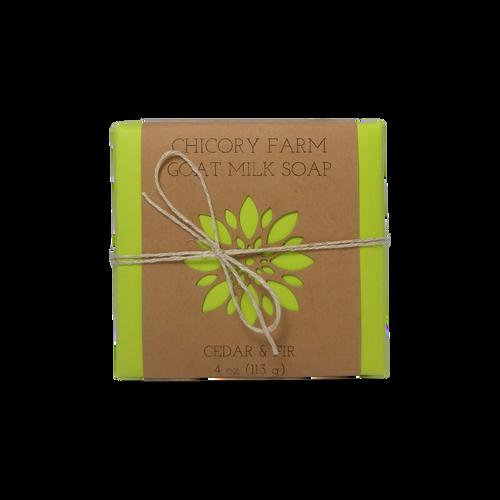 Cedar & Fir Goat Milk Soap
