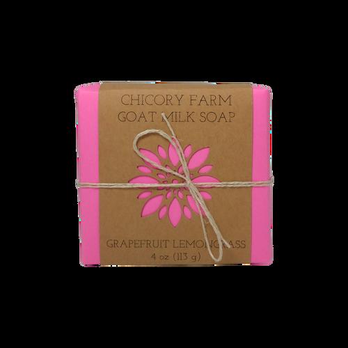 Grapefruit & Lemongrass goat milk soap