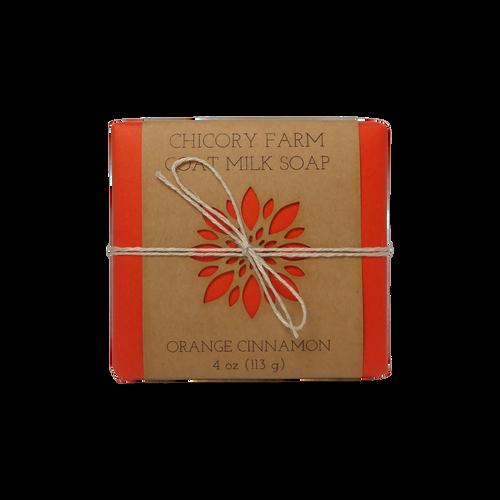 Orange Cinnamon goat milk soap