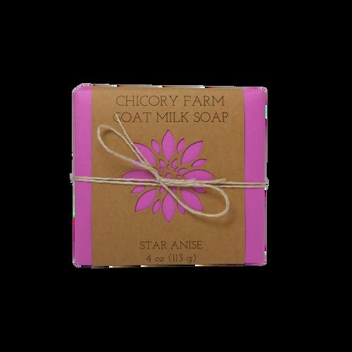 Star anise goat milk soap