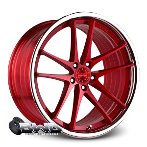 "20"" Vertini RF 1.5 Brushed Red"