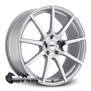 "20"" TSW Interlagos Silver Mirror Cut Face RF"