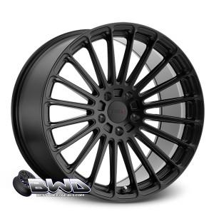"20"" TSW Turbina Matte Black RF"