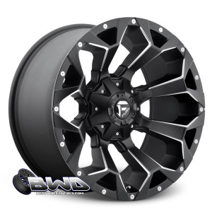 "18"" Fuel Assault D546 Matte Black"