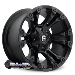 "18"" Fuel Vapor D560 Matte Black"