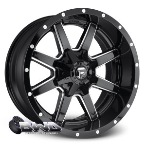 "18"" Fuel Maverick D610 Gloss Black"
