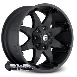 """18"""" Fuel Octane D509 Matte Black"""