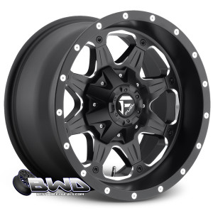 "18"" Fuel Boost D534 Matte Black"