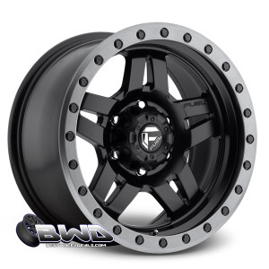 "18"" Fuel Anza D557 Matte Black"