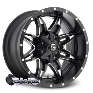 "18"" Fuel Anza D567 Matte Black"